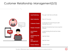 Digitalization Corporate Initiative Customer Relationship Management Products Ppt Infographic Template Influencers PDF