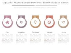 Digitization Process Example Powerpoint Slide Presentation Sample