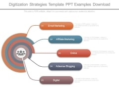 Digitization Strategies Template Ppt Examples Download