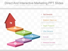 Direct And Interactive Marketing Ppt Slides
