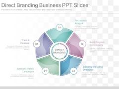 Direct Branding Business Ppt Slides