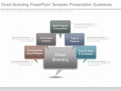 Direct Branding Powerpoint Template Presentation Guidelines