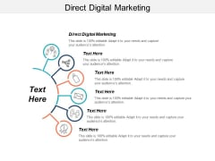 Direct Digital Marketing Ppt PowerPoint Presentation Professional Format Ideas Cpb