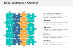 Direct Distribution Channel Ppt PowerPoint Presentation Ideas Display Cpb