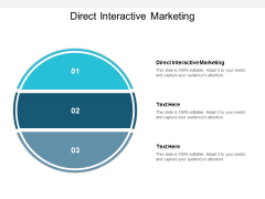 Direct Interactive Marketing Ppt PowerPoint Presentation Icon Examples Cpb