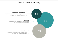 Direct Mail Advertising Ppt PowerPoint Presentation Infographic Template Layout Cpb