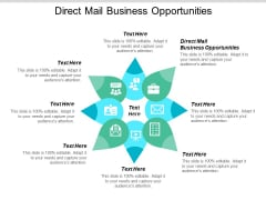Direct Mail Business Opportunities Ppt PowerPoint Presentation Infographics Tips Cpb