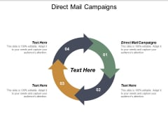 Direct Mail Campaigns Ppt PowerPoint Presentation Inspiration Microsoft Cpb