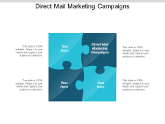 Direct Mail Marketing Campaigns Ppt PowerPoint Presentation Portfolio Graphics Download