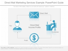 Direct Mail Marketing Services Example Powerpoint Guide