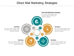 Direct Mail Marketing Strategies Ppt PowerPoint Presentation Model Summary Cpb
