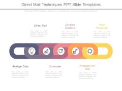 Direct Mail Techniques Ppt Slide Templates