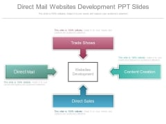 Direct Mail Websites Development Ppt Slides