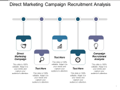 Direct Marketing Campaign Recruitment Analysis Ppt PowerPoint Presentation Model Samples