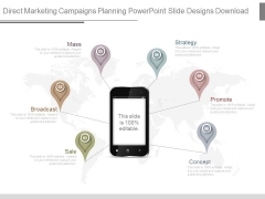 Direct Marketing Campaigns Planning Powerpoint Slide Designs Download