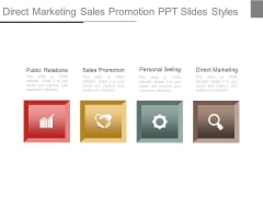 Direct Marketing Sales Promotion Ppt Slides Styles