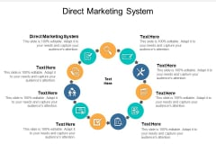 Direct Marketing System Ppt Powerpoint Presentation Slides Professional Cpb