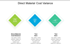 Direct Material Cost Variance Ppt PowerPoint Presentation Model Designs Download Cpb Pdf