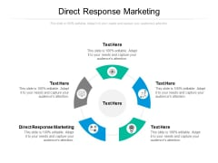 Direct Response Marketing Ppt PowerPoint Presentation Infographic Template Deck Cpb