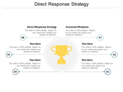Direct Response Strategy Ppt PowerPoint Presentation Summary Tips