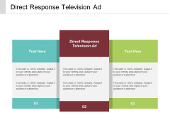 Direct Response Television Ad Ppt PowerPoint Presentation Show Templates Cpb