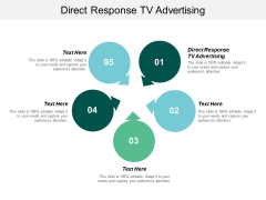 Direct Response Tv Advertising Ppt PowerPoint Presentation Gallery Infographic Template Cpb