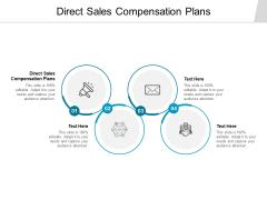 Direct Sales Compensation Plans Ppt PowerPoint Presentation Model Slide Download Cpb
