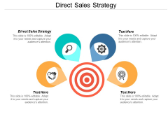 Direct Sales Strategy Ppt PowerPoint Presentation Visual Aids Infographics