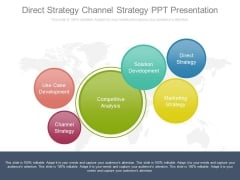 Direct Strategy Channel Strategy Ppt Presentation