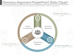 Directory Alignment Powerpoint Slide Clipart