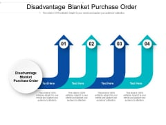 Disadvantage Blanket Purchase Order Ppt PowerPoint Presentation Ideas Skills Cpb Pdf