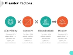 Disaster Factors Ppt PowerPoint Presentation Images