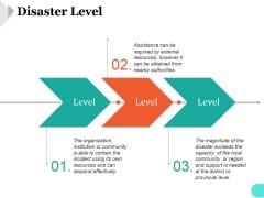 Disaster Level Ppt PowerPoint Presentation Slide
