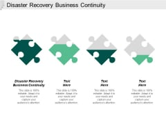 Disaster Recovery Business Continuity Ppt Powerpoint Presentation Summary Backgrounds Cpb