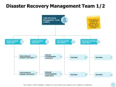 Disaster Recovery Management Team Analysis Ppt PowerPoint Presentation Professional Gallery