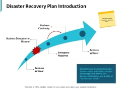 Disaster Recovery Plan Introduction Ppt PowerPoint Presentation Portfolio Portrait