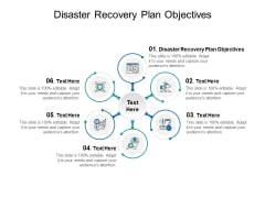 Disaster Recovery Plan Objectives Ppt PowerPoint Presentation Pictures Examples Cpb