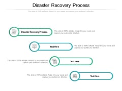 Disaster Recovery Process Ppt PowerPoint Presentation Layouts Templates Cpb