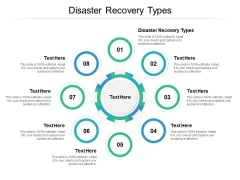 Disaster Recovery Types Ppt PowerPoint Presentation Slide Cpb
