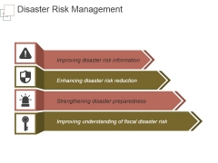 Disaster Risk Management Ppt PowerPoint Presentation Background Images