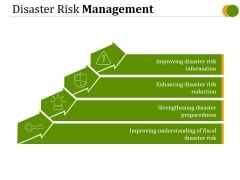 Disaster Risk Management Ppt PowerPoint Presentation Examples