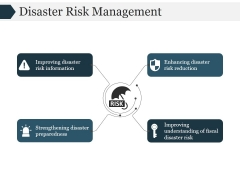 Disaster Risk Management Ppt PowerPoint Presentation Files