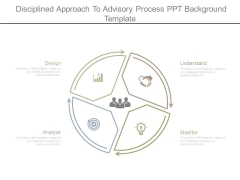 Disciplined Approach To Advisory Process Ppt Background Template