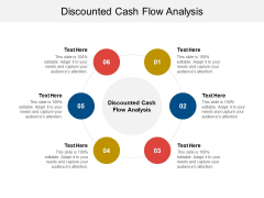 Discounted Cash Flow Analysis Ppt PowerPoint Presentation Outline Information Cpb Pdf