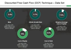 Discounted Free Cash Flow Dcf Technique Data Set Ppt PowerPoint Presentation Gallery Display