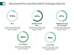 Discounted Free Cash Flow Technique Data Set Ppt PowerPoint Presentation File Summary