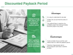 Discounted Payback Period Ppt PowerPoint Presentation Icon Example