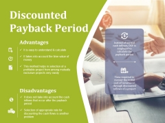 Discounted Payback Period Ppt PowerPoint Presentation Ideas Outline