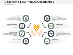 Discovering New Product Opportunities Ppt Powerpoint Presentation Infographics Clipart