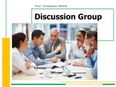 Discussion Group Ppt PowerPoint Presentation Complete Deck